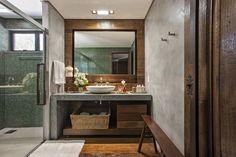 Fazenda Dores do Indaiá: Casa Rústico por Gislene Lopes Arquitetura e Design de Interiores