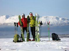 skialp scialpinismo skirando skitouren  norway Alpen Lingen - Voile