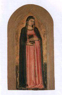 Anonimo pratese - Madonna del parto -  sec. XIV - Prato, Museo dell'Opera del Duomo