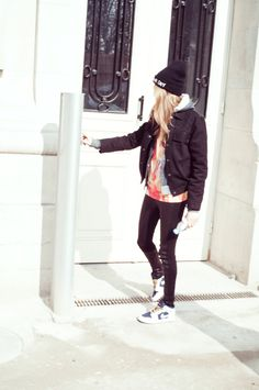 Cara Delevingne arriving at a Saint Laurent fitting. Photo by Alexis Dahan. W Magazine #wmagSept 2013