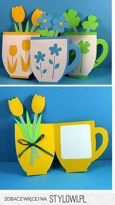 50 Awesome Spring Crafts for Kids Ideas - Geschenke - Kids Crafts Kids Crafts, Diy Mother's Day Crafts, Spring Crafts For Kids, Mothers Day Crafts For Kids, Mother's Day Diy, Mothers Day Cards, Easter Crafts, Holiday Crafts, Art For Kids