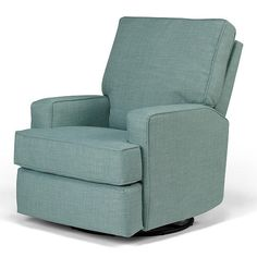 After a long day, kick back and relax in the Kersey Upholstered Swivel Glider Recliner. This cozy chair features sleek lines on its squared arms and back for a fashionable look that is great for any room of your home. With a simple pull on the inside handle you'll be reclining in no time, and the plush pillow back and soft, sturdy cushion provide the comfort you require while rocking baby to sleep. The hardwood frame, reinforced joints and steel mechanism mean this chair will be around f...