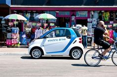 Smart fortwo car2go short term car rentals launched in Berlin: Leave an electric footprint