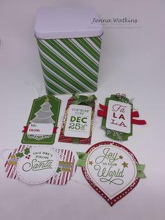Stamp 'N Hop - Christmas Jump Start 3 D, Stampin Up, Christmas Cards, Corner, Crafty, Holiday, Catalog, Blog, Boxes