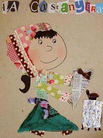 Mamà recicla: ¡Bona castanyada! / ¡Feliz castañada! / Bom magusto! Painting For Kids, Art For Kids, Crafts For Kids, Arts And Crafts, Children Painting, Collage Illustration, Collage Art, Collages, Autumn Activities