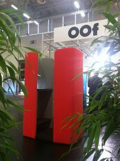 OOf box by OOf (Out of Office) enables agile working with mobile devices in offices and public spaces