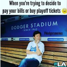 Haha just saw this on Facebook! #LAvsNY #nlds #playoffs #Dodgers #dodgerfamily #workhardplayhard #fortheloveofthegame #bleedblue #bringithome #baseball #LALovesOctober ⚾️