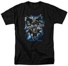 Justice League Justice Storm T-shirt Black