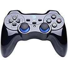 ZD V Full Vibration Feedback 2.4G Wireless Controller Gamepad Mando Joystick For PC(Windows XP/7/8/8.1/10) & PlayStation 3 & Android&Steam - Not support the Xbox 360/One