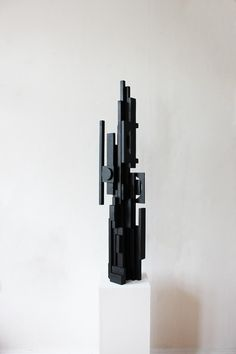 TILDE GRYNNERUP Modern Wall Sculptures, Geometric Sculpture, Contemporary Sculpture, Sculpture Art, Wood Wall Art Decor, Reclaimed Wood Wall Art, Wood Art, Wood Mosaic, Concrete Wood