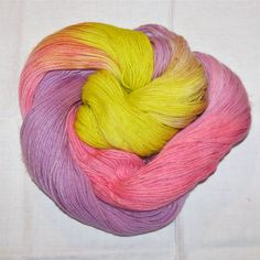 Hand dyed superwash sock yarn BABY BABY by vieuxrouet on Etsy