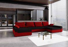 Rozkládací sedačka do U VIVIANA   Expedo.cz Outdoor Sectional, Sectional Sofa, Sofa U Form, Outdoor Furniture, Outdoor Decor, Elegant, Home Decor, Products, Closet Storage