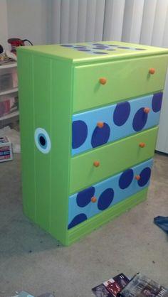 Ideas for our Monsters Inc themed nursery!