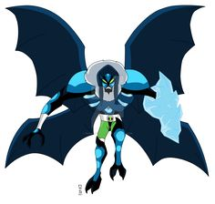 ENGLISH: Name:Ghost Arms Fusion between:Four Arms and Ghostfreak Species:½ Tetramand½ Ectonurite(Petramand) Planet:Khoros/Anur Phateos Abil...
