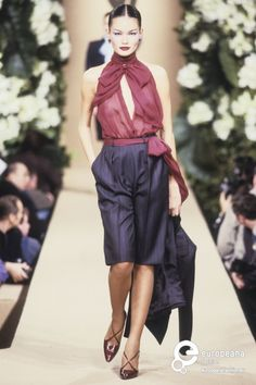 O I want this top! Yves Saint Laurent, Spring-Summer 1999, Couture