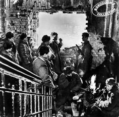 Stalingrad - In the commanding center of the 62 Army. 1942