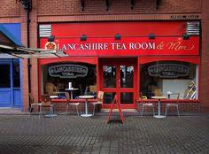 Lancashire Tea Room, The Galleries, Wigan by Lancastrian, via Flickr