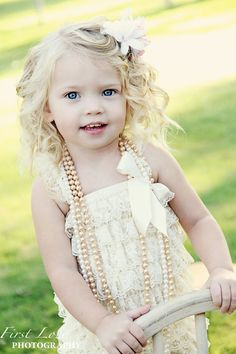 Any 1 Beautiful Petti Lace Romper with por babyandmedesigns en Etsy, $16.99