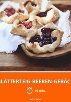 Blätterteig-Beeren-Gebäck - smarter - Zeit: 45 Min.   eatsmarter.de