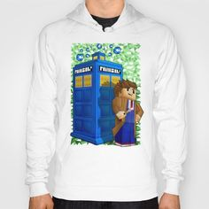 10th Doctor who in 8bit world iPhone 4 4s 5 5c 6, pillow case, mugs and tshirt #hoody #maincraft #tardis #drwho10 #colorfull #davidtennant #3d #animated #policepublicalbox #policephonebooth