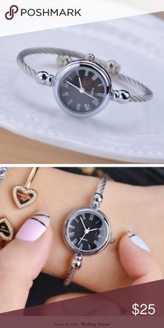 8c5ab982bf4f ❤️NEW❤ Roma Simple Stainless Bracelet Watch