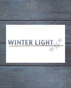Winter Light - 2015