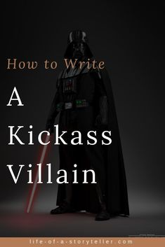 How to Write a Kickass Villain Writing Genres, Writing Prompts For Writers, Writers Notebook, Writing Characters, Fiction Writing, Writing Quotes, Writing Advice, Writing Resources, Writing Ideas