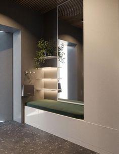 Home Entrance Decor, Hallway Ideas Entrance Narrow, House Entrance, Entryway Decor, Bedroom Decor, Home Decor, Entrance Halls, Modern Hallway, Entryway Ideas