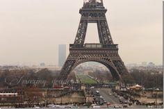 Eiffel Tower...Paris...check in the box