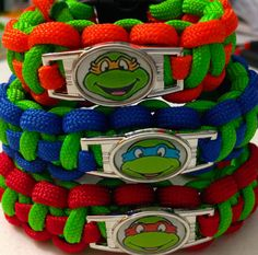 #craftshout Hey, I found this really awesome Etsy listing at https://www.etsy.com/listing/213127509/teenage-mutant-ninja-turtles-paracord