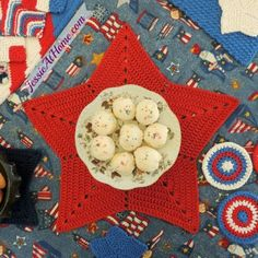 Oh my stars! The Star Trivet or Centerpiece designed by Jessie is easy to make. Functional & fashionable size it to your own needs Shine on fellow stitchers