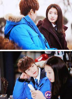 Shin Hye and Lee Min Ho ♡ #Kdrama // The #HEIRS