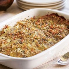 Fennel Layered with Potatoes Breadcrumbs Add this recipe's ingredients to your shopping list. get.ziplist.com/clipper