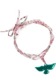 #DIY woven cotton charm bracelet. original price = $110. DIY it for less!
