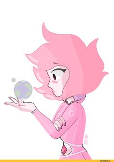 Steven universe,фэндомы,SU art,saskyang,Pink Diamond,SU Персонажи