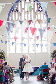 Lotte & David's games and dance DIY fête of love   Offbeat Bride