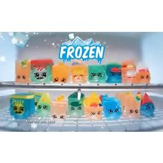 Frozen Shopkins cute Toys From Moose