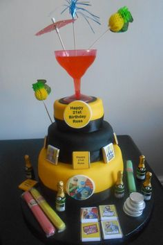 Only Fools and horses cake Dad Birthday Cakes, Horse Birthday, Happy 21st Birthday, 60th Birthday Party, Dad Cake, Only Fools And Horses, Retirement Cakes, Horse Cake, Horse Party