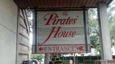 Pirates House in Savannah!