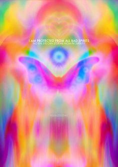 Bad Spirits, Spiritual Photos, Sensory Art, Spiritual Manifestation, Aura Colors, Happy Hippie, Futuristic Art, Photo Wall Collage, Good Energy