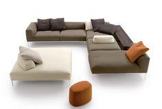 Ecksofas: Sofakombination Frank von B&B Italia