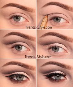 double lidded eye makeup - Google Search