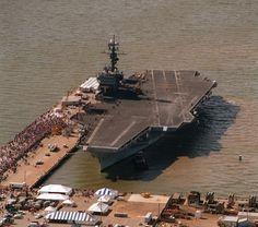 USS America CV-66 Crew Hooded Sweatshirt US Navy Officially Licensed