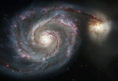 The Whirlpool Galaxy - 2014 Hubble Space Telescope Advent Calendar - In Focus - The Atlantic