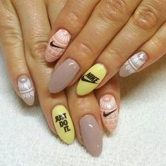 Get inspired and motivated to workout and stay fit with fabulous nail art. These nail art designs are sporty, trendy and look amazing. Motivate yourself to get in shape by getting pampered with fun nail art. You'll love these fitness nail designs.