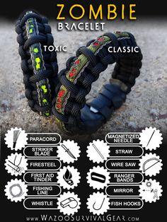 discrete survival braclete! such a good idea