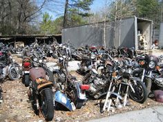 Business and industry kohl 39 s motorcycle salvage lockport for Motor cycle junk yard