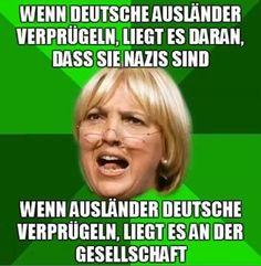 Eingebetteter Bild-Link  Deutscher ist nur, wer dieses Land als Heimat und Wurzel empfindet. Alle anderen sind Pseudos. #Grüne #Mamba #Pegida