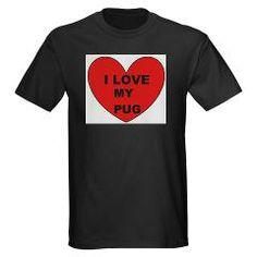pug love T-Shirt > Pug > Paw Prints 5 #dog #pet #pug #Chinesepug #Dutchbulldog #Dutchmastiff #Minimastiff #Mops #Carlin #China #love