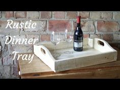Rustic Dinner Tray | Hometalk